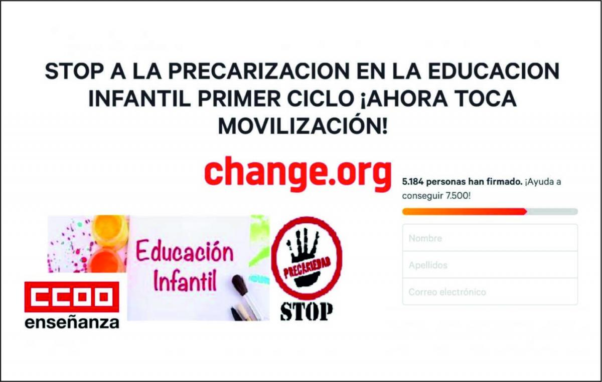 Campaña Change.org